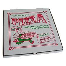 Pizza Box 25x18x2 25ct Corr