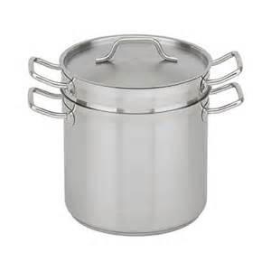 Winco 20qt Double Boiler Set