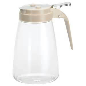 TCP 10oz Poly Syrup Dispenser