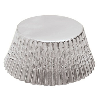 Mini Silver Foil Baking Cup