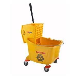 Mop Bucket with Wringer 36 Qt
