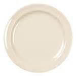 "10.25"" Tan Melamine Plate DZ"