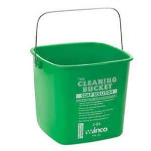 6qt Green Cleaning Bucket 1