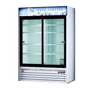 Blue Air Cooler Merchandiser