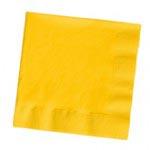 School Bus Yellow Bev Nap 50ct