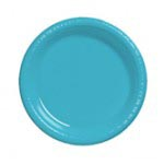 "Berm Blue 10.25"" Plastic Plate"