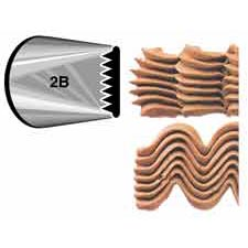 #2B Basketweave Tip Large