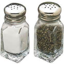 TCP 2oz Salt & Pepper Square