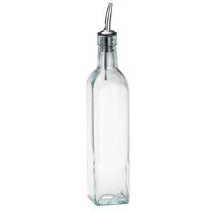 16oz Olive Oil Bottle w/Pourer