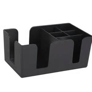 Black Bar Caddy/Bevnap Holder