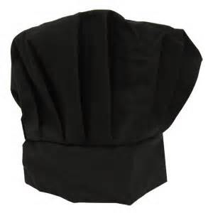 Chef Hat Black 1
