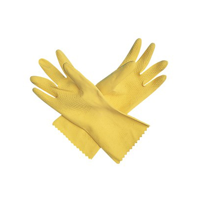 Yellow Latex Dish Glove 1 Pair