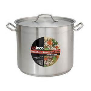 Winco 12qt Stainless Stock Pot