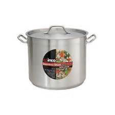 Winco 32qt Stainless Stock Pot