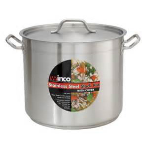 Winco 40qt Stainless Stock Pot