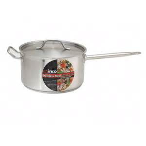 6 qt S/S Sauce Pan w/Cover 1