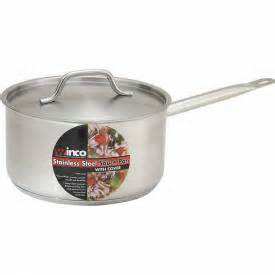 3.5 qt S/S Sauce Pan w/cover