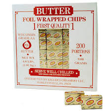 Butterchips Foil box 200ct