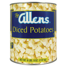 Potatoes Diced #10