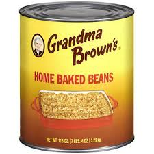 Beans Baked Grandma Brown #10