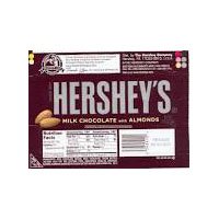 Hersheys with almonds (36 ct)