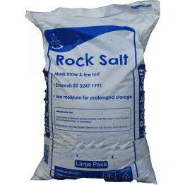 Rock Salt 50# Bag